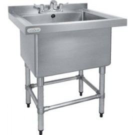 Vogue CE141 0.8m Deep Pot Sink