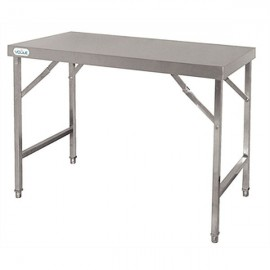 Vogue CB905 1.2m Stainless Steel Folding Table