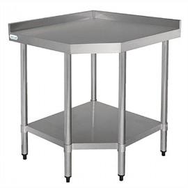 Vogue CB907 0.8m Stainless Steel Corner Unit