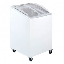 Tefcold IC100SCEB 100 Litre Sliding Lid Chest Display Freezer