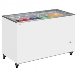 Tefcold IC400SC 401 Litre Sliding Lid Chest Display Freezer