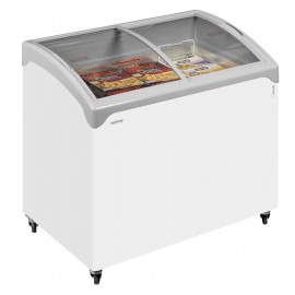 Tefcold NIC300SCEB 1m Sliding Curved Glass Lid Chest Freezer