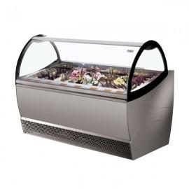 ISA Millennium SP24 24 Pan Ventilated Soft Scoop Ice Cream Display Freezer