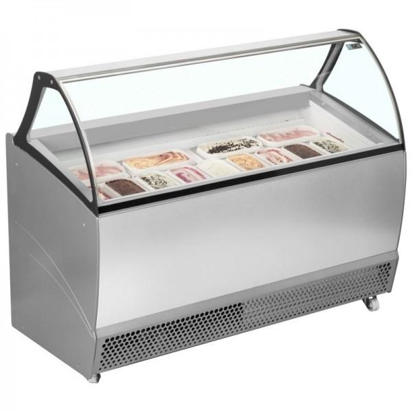 ISA Bermuda RV13 13 Pan Ventilated Scoop Ice Cream Display
