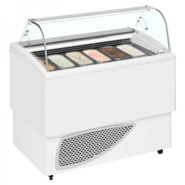 Tecfrigo CARISMA 6 Ventilated Scoop Ice Cream Display Freezer