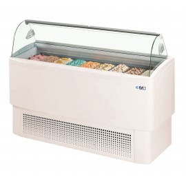 ISA Fiji 9 9 Pan Ice Cream Display Freezer