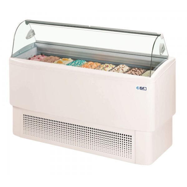 ISA Fiji 120 9 Pan Ice Cream Display Freezer
