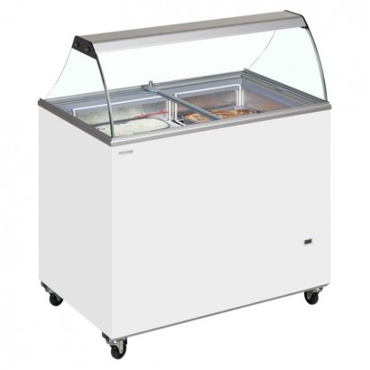 Tefcold IC300SC 7 Pan Ice Cream Display
