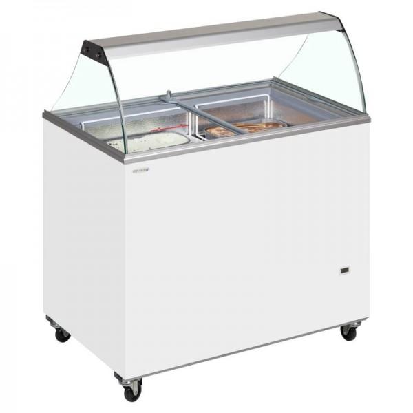 Tefcold IC400SC 10 Pan Ice Cream Display