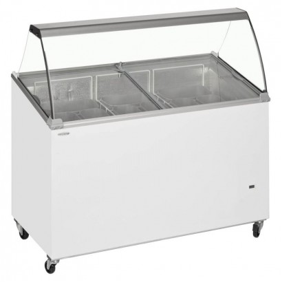 Tefcold IC400SCE 9 Pan Scoop Ice Cream Display Freezer