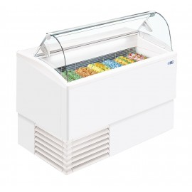 ISA Isetta 9LX 9 Pan Ice Cream Display Freezer