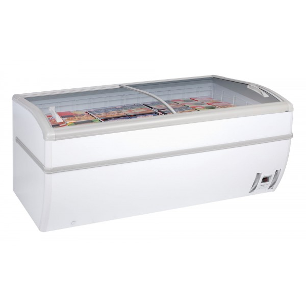 Arcaboa Panoramica 2D/PN 2m Auto Defrost Dual Temp High Vision Freezer