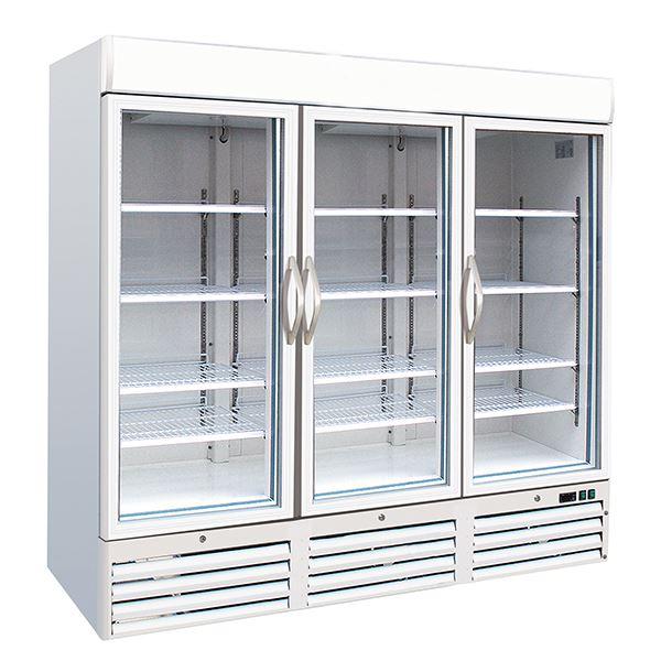 Kool F1400 Triple Door Upright Display Freezer