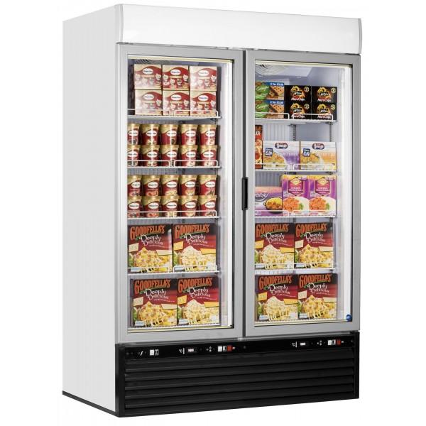 Iarp EIS45 Single Glass Door Display Freezer