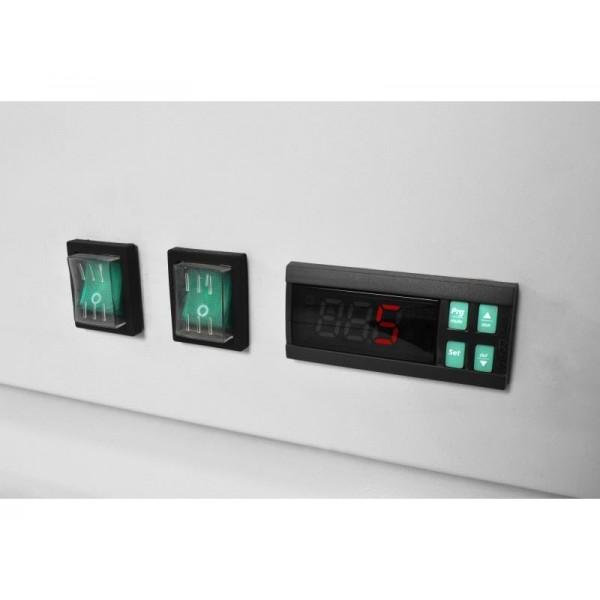 Prodis XD2NW 730 Litre White Heavy Duty Glass Door Display Freezer