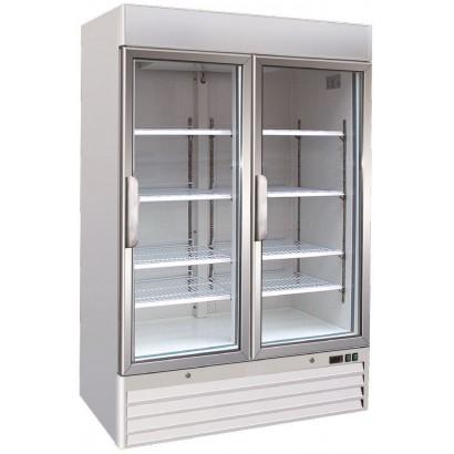 Alpine ADF2 Double Door Display Freezer