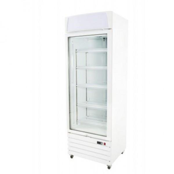 Prodis XD1NW White Heavy Duty Glass Door Display Freezer