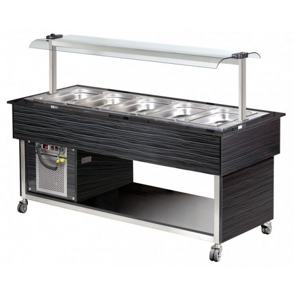 Blizzard BB5-COLD Storage and Servery Cold Buffet Display