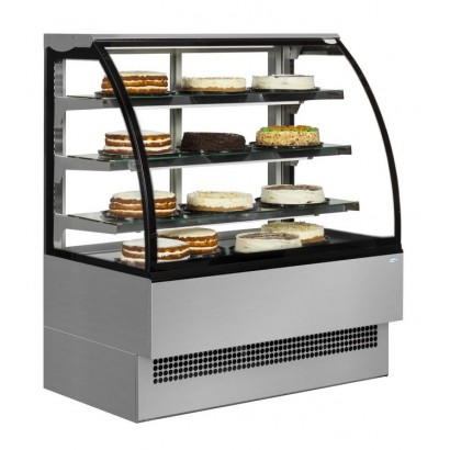 Interlevin EVO600SS 0.6m Stainless Steel Patisserie Display
