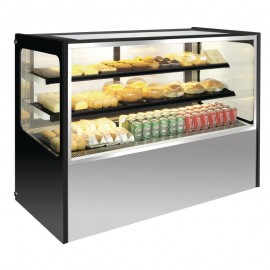 Polar 400 Ltr Refrigerated Deli Showcase