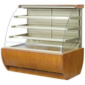 Igloo Jamaica JA90WW OPEN 0.9m Wood Finish Open Front Pastry Case