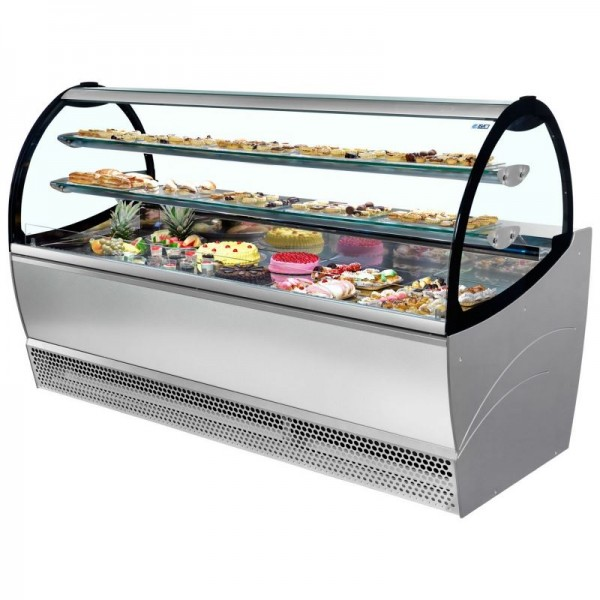 ISA Millennium PAS164 1.6m Patisserie Serve Over Counter