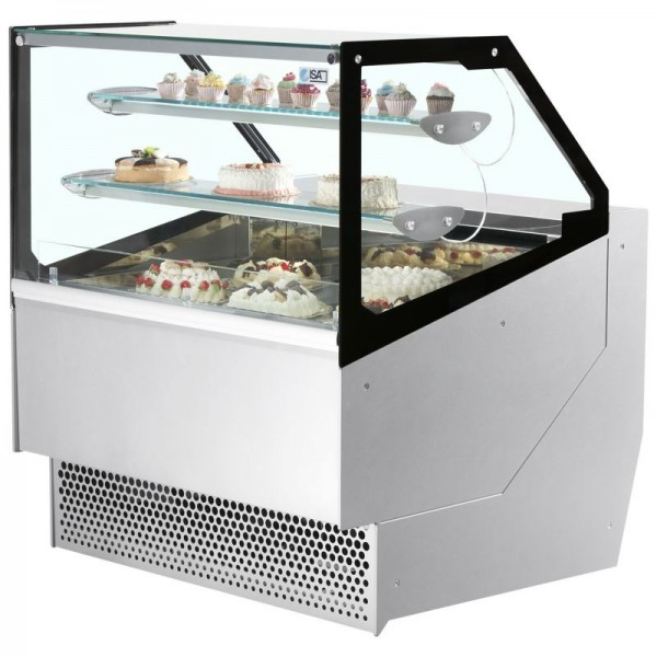 ISA Millennium STDPAS164 1.6m Patisserie Serve Over Counter
