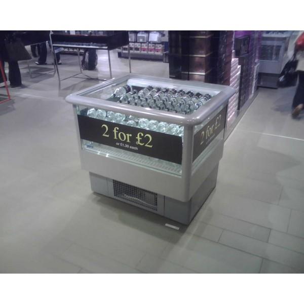 Norpe Norwell-120-C 1.2m Island Display Fridge
