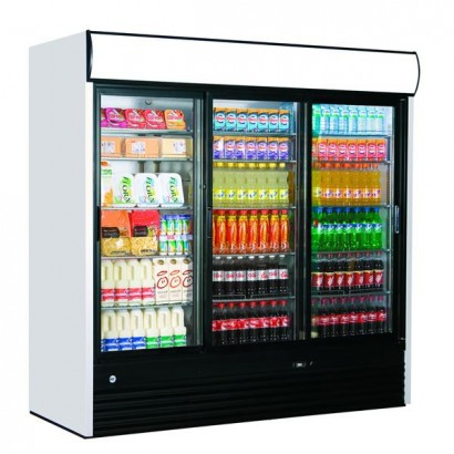 Iarp EIS214 Triple Door Display Fridge
