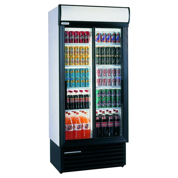 Staycold SD890 675 Litre Double Sliding Glass Door Display Fridge