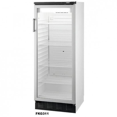 Vestfrost FKG311 1.5m High Low Height Upright Display Fridge
