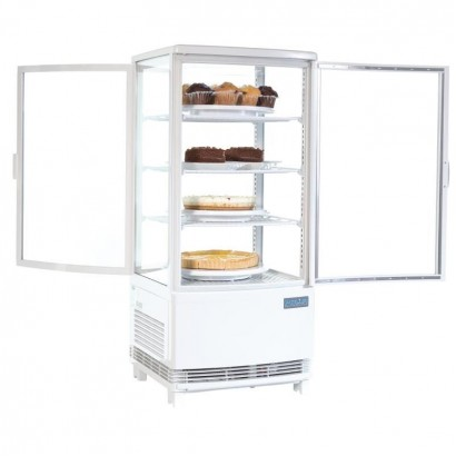 Polar CB507 86 Litre Curved Door Display Fridge