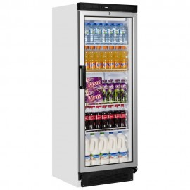 Tefcold FS1280 290 Litre Single Glass Door Upright Display Fridge