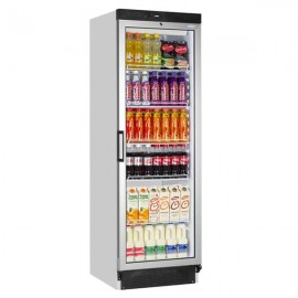 Tefcold FS1380 372 Litre Single Glass Door Upright Display Fridge