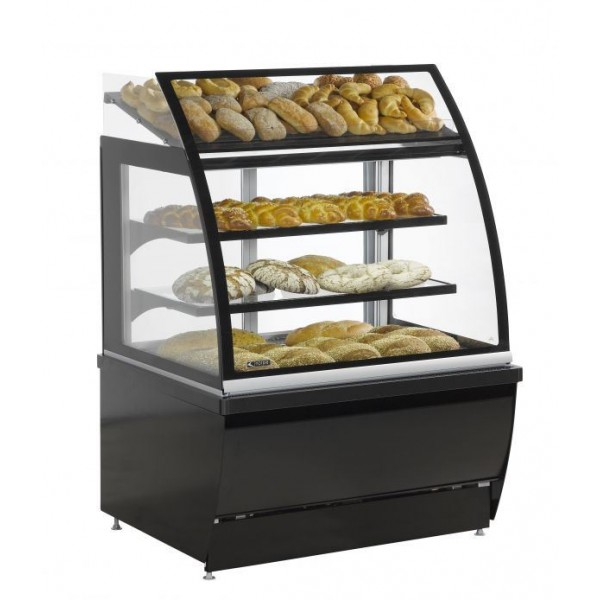 Norpe AIDA-BO-120-M Refrigerated Serve Over Display With Ambient Shelf