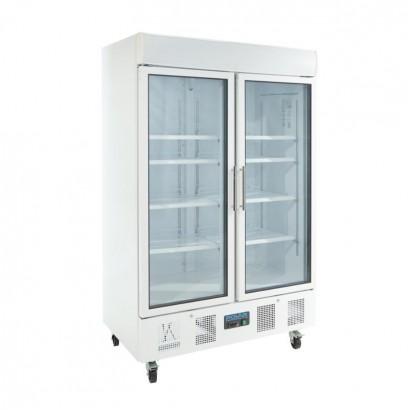Polar CD984 944 Litre Double Door Display Fridge