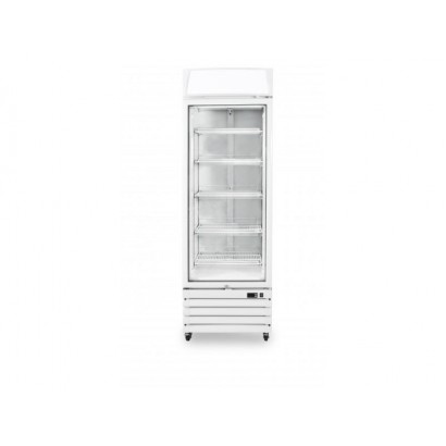 Prodis XD1PW White Heavy Duty Glass Door Display Fridge