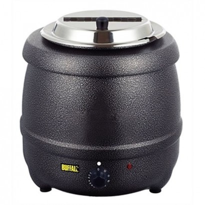 Buffalo G107 10 Litre Graphite Soup Kettle