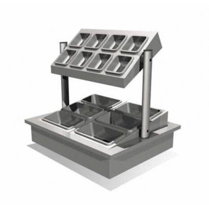 Counterline Integrale ICCU2 Cutlery Condiment Unit
