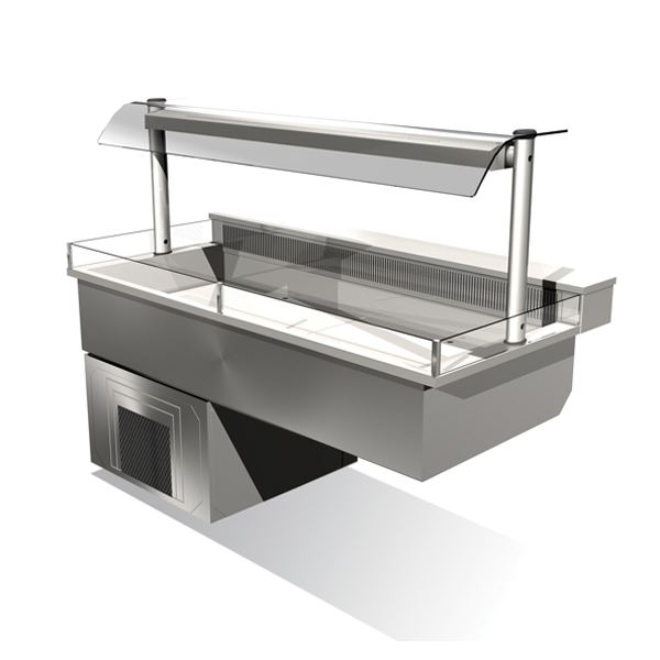 Counterline Integrale ICDK5-GO Chilled Display Deck