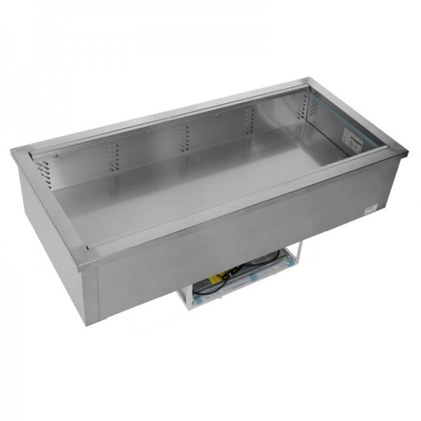 Tefcold CW4V 1.5m Stainless Steel Fan Assisted Buffet Display