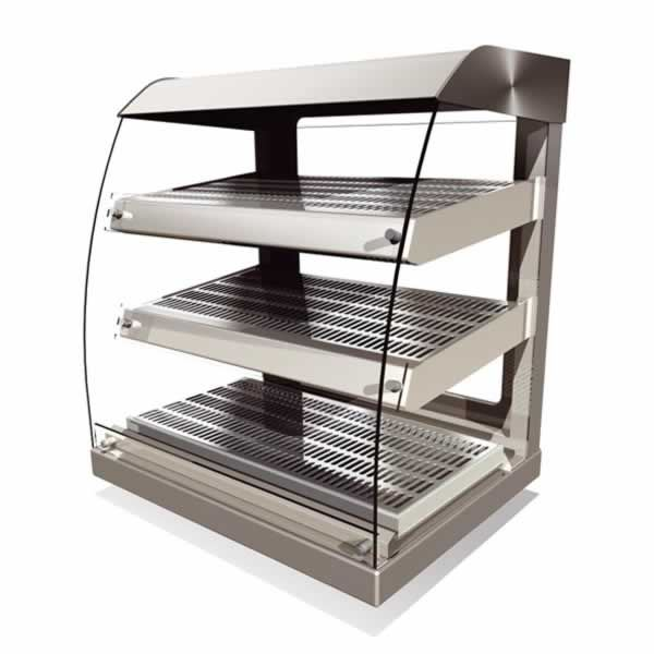 Counterline Vision Heated Table Top Self Service Display