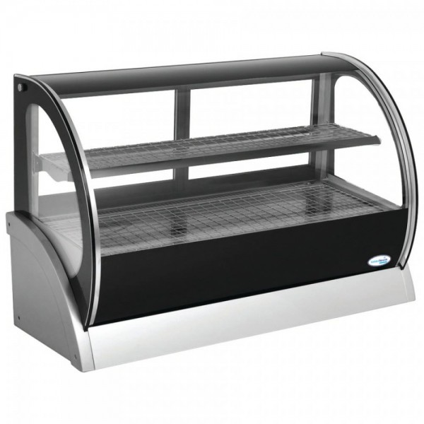 Interlevin H-S540A 1.2m Heated Counter Top Display Cabinet