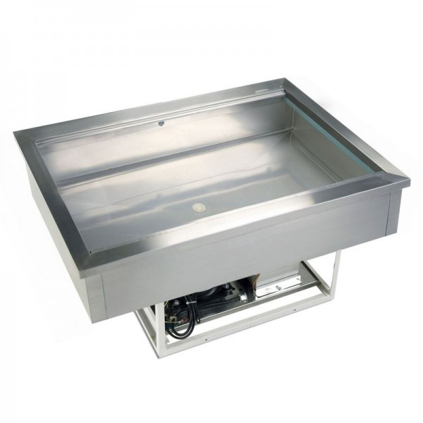 Tefcold CW2 0.8m Stainless Steel Buffet Display