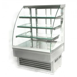Igloo Jamaica JA60W 0.6m Stainless Steel Pastry Case