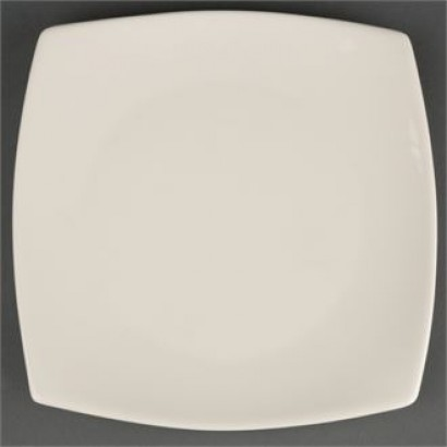 Olympia Y087 Ivory 191mm Round Square Plates (Pack of 12)
