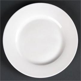 """Lumina Wide Rim Round Plates 7"""" 175mm 6 Pack"""