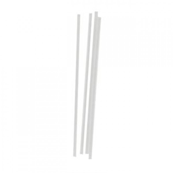 Non-Branded Clear Straight Straws (Pack of 1000)