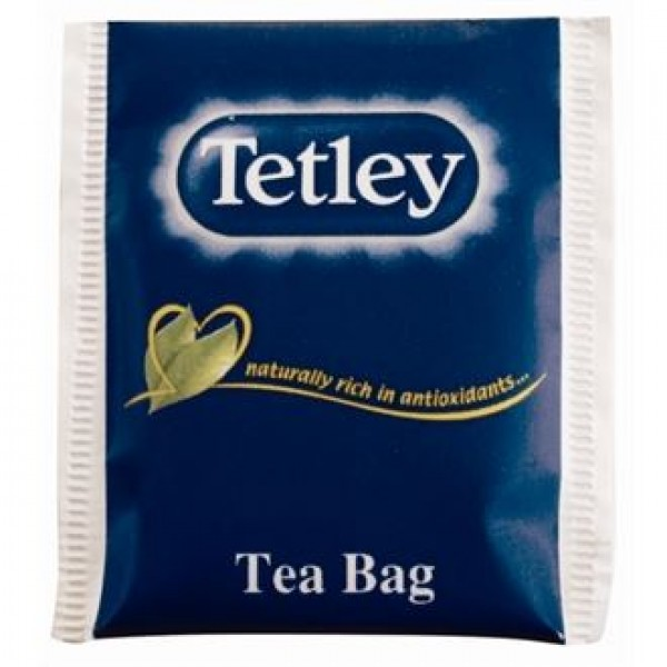 Tetley Envelope Black Tea Envelopes (Pack of 250)