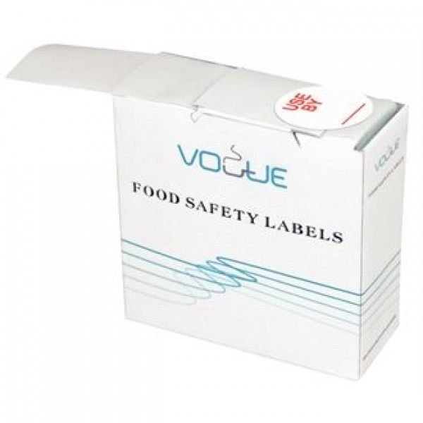 Vogue Use By Labels (Roll of 1000)